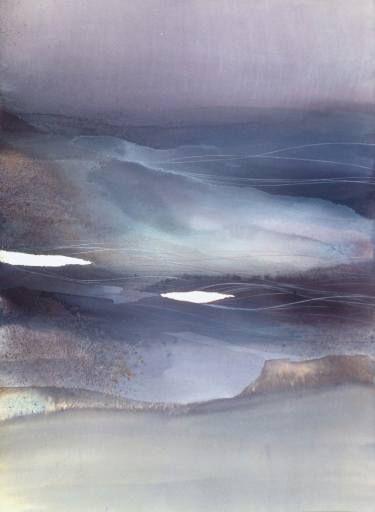 "Saatchi Art Artist Sabrina Garrasi; Painting, """"Dreamlike Dimension"" / Original Painting - Abstract Landscape"" #art"