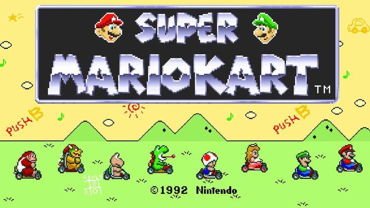 Super Mario Kart  1992,