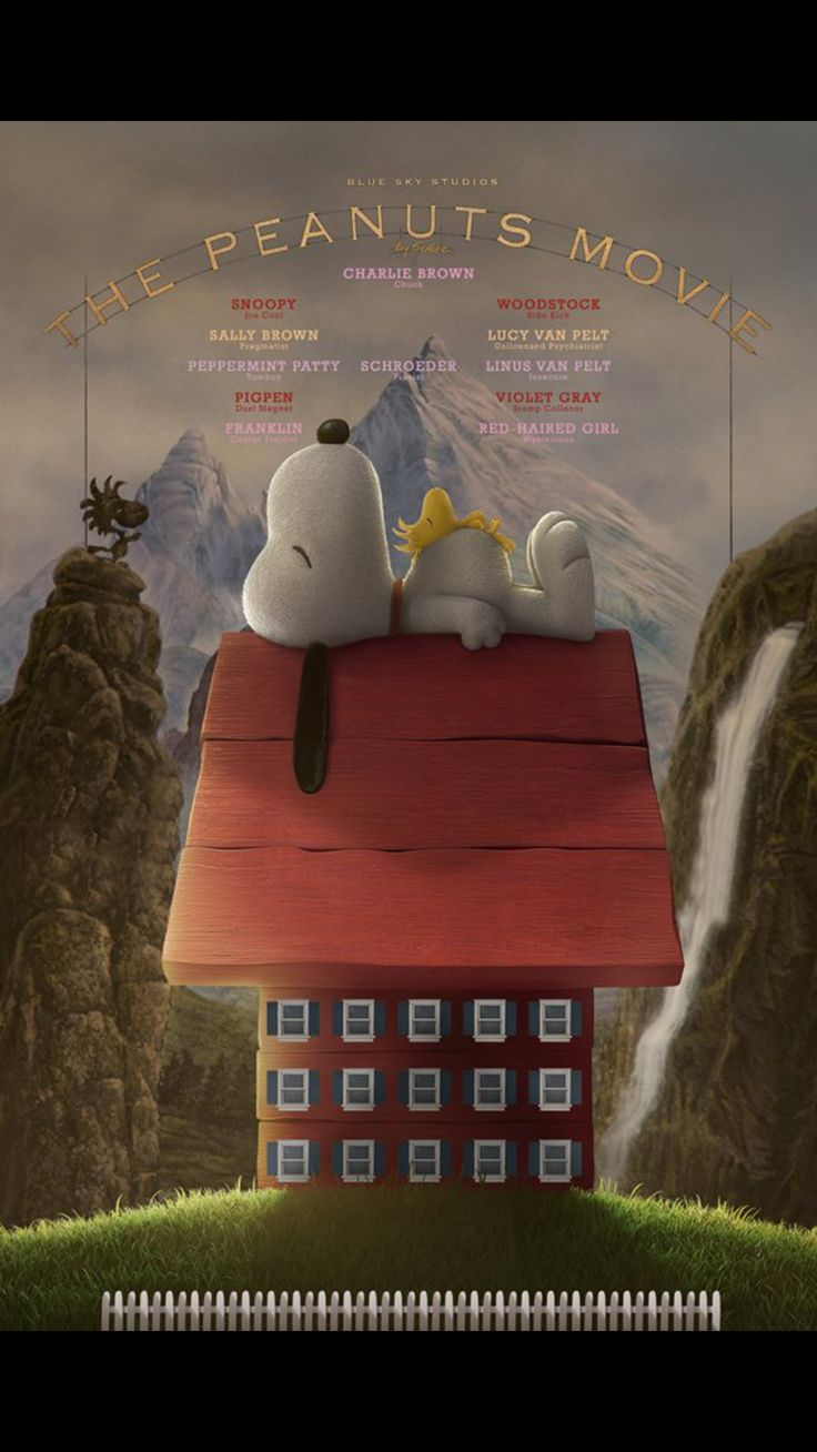 Peanuts movie(ˆ◡ˆ)