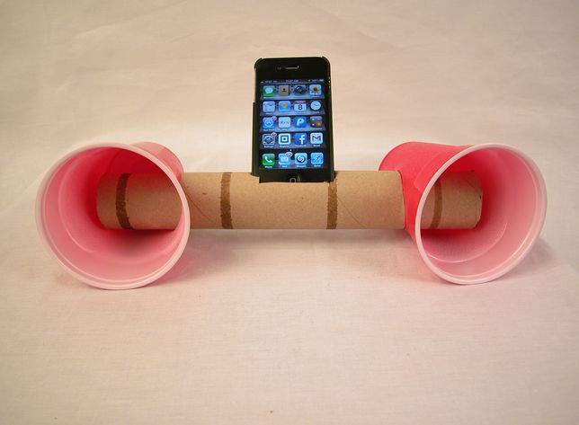 zelf speakers knutselen voor Vaderdag 2014 - Vaderdag cadeau