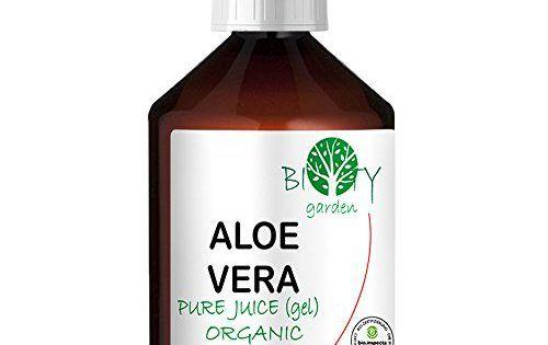 biOty Garden 100% Pure Gel (Jus) d'Aloe Vera Certifié Organique ( liquide, sans épaississants) I Visage, Corps, Bébé, Après Epilation,…