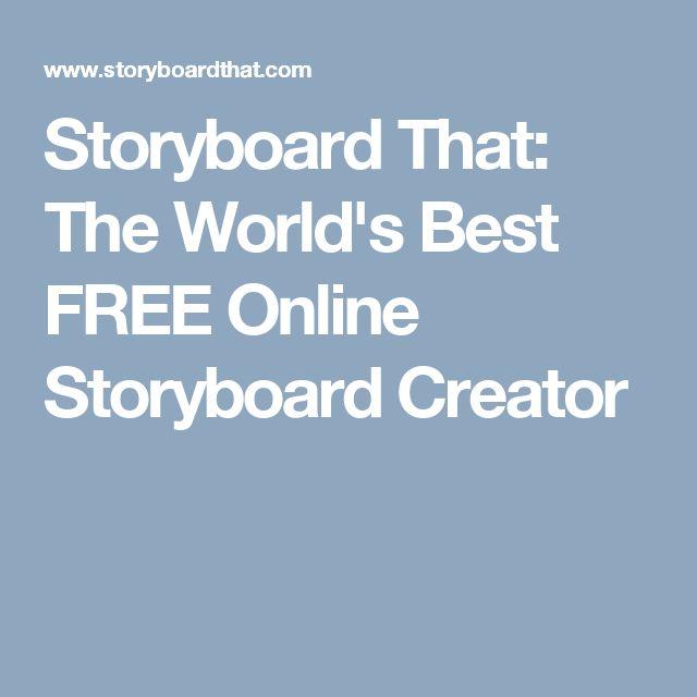 Více než 25 nejlepších nápadů na Pinterestu na téma Free - free storyboard templates