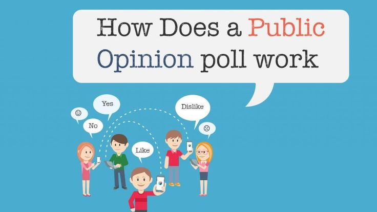 How Does a Public Opinion poll work