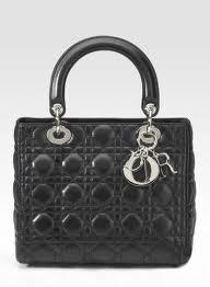 I love the Lady Dior handbag!  it is so timeless.