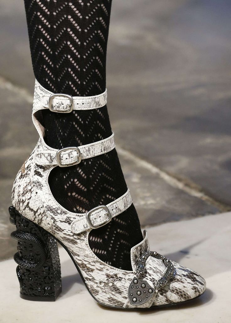Queercore: Queercore, the gay punk movement of the mid-1980s lends its name to a new collection of shoes. Reflecting the spirit of the subculture, the styles are fitted with multiple straps, studs and metal embellishments, including the Dionysus buckle.