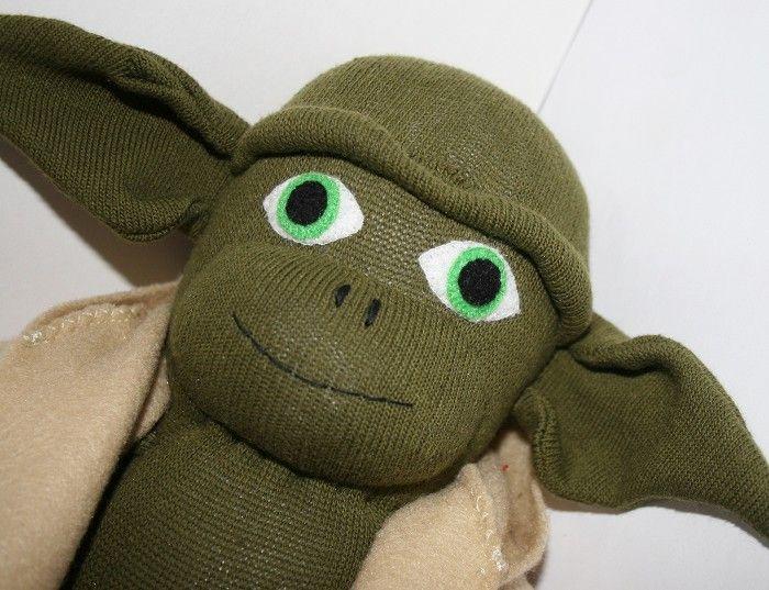how to make yoda sock monkey - Google Search