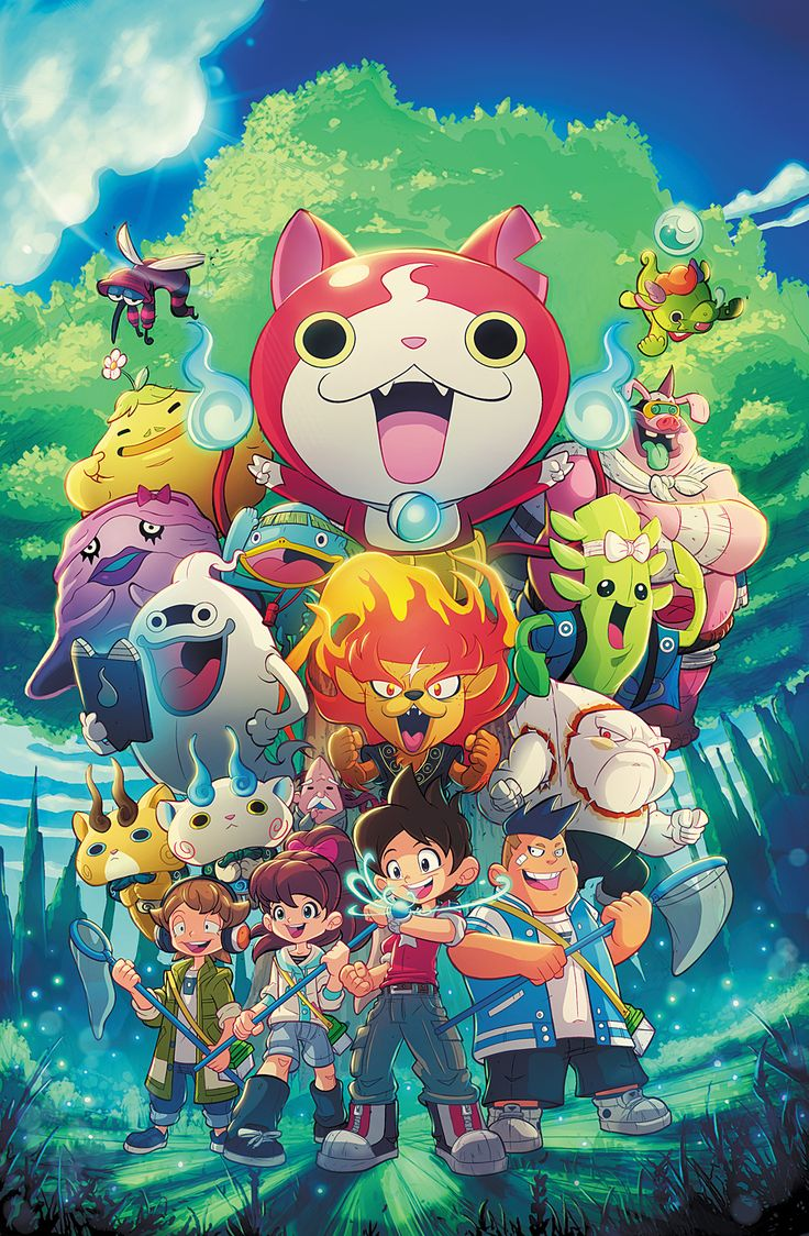 Yokai Watch Cover by RobDuenas on DeviantArt in 2020 (With