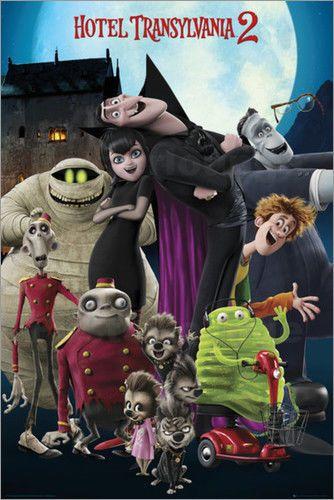 Poster Hotel Transylvania 2 - cast