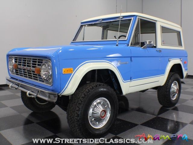 ford bronco | 1974 Ford Bronco for sale: Anamera
