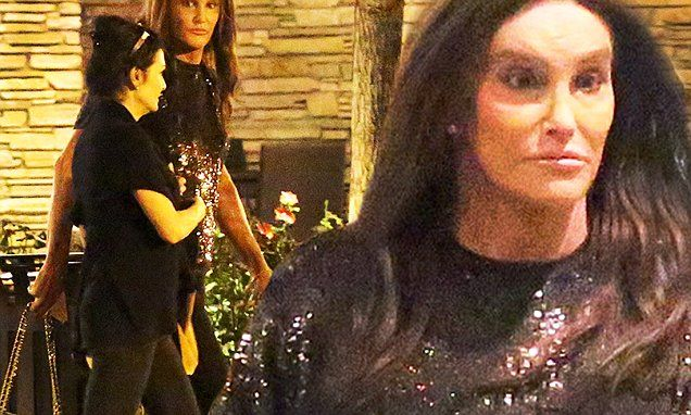 Caitlyn Jenner goes to the cinema as the Kardashians support Khloe at Lamar Odom's bedside | Daily Mail Online