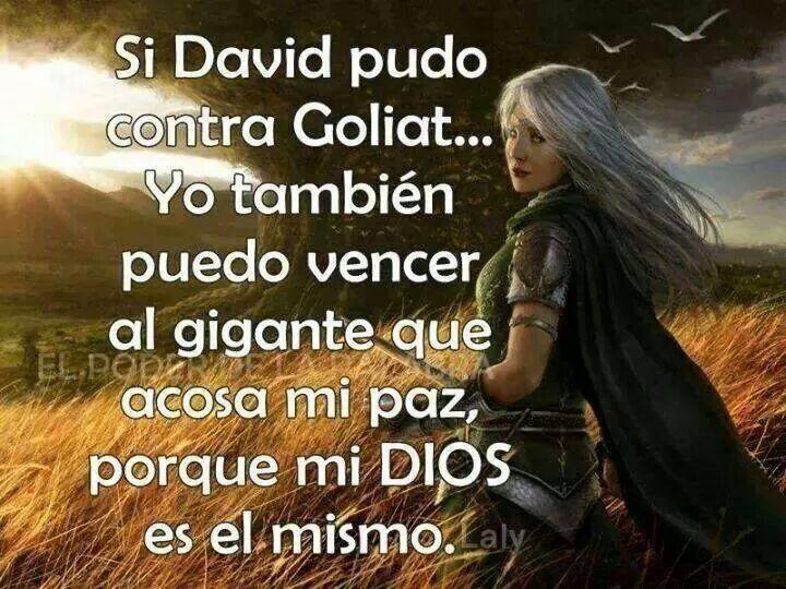 No Temeré Dios Ya Me Dio La Victoria!!