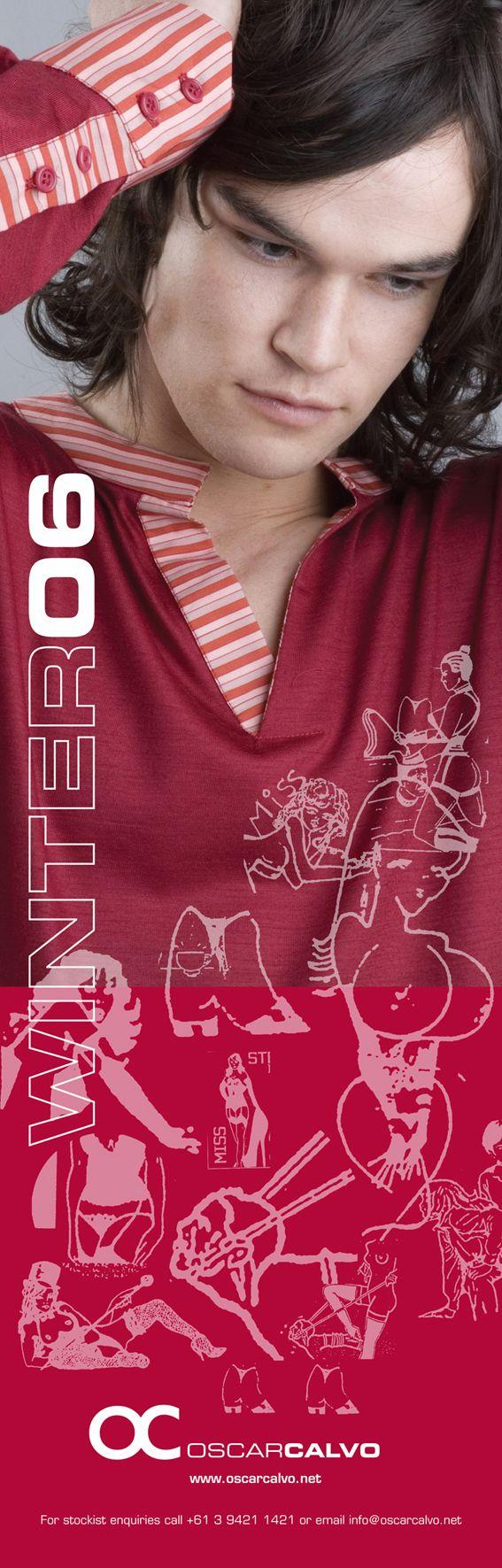 OC OSCARCALVO   WINTER 2006 AD #oscarcalvo #menswear #mensfashion #mensclothing