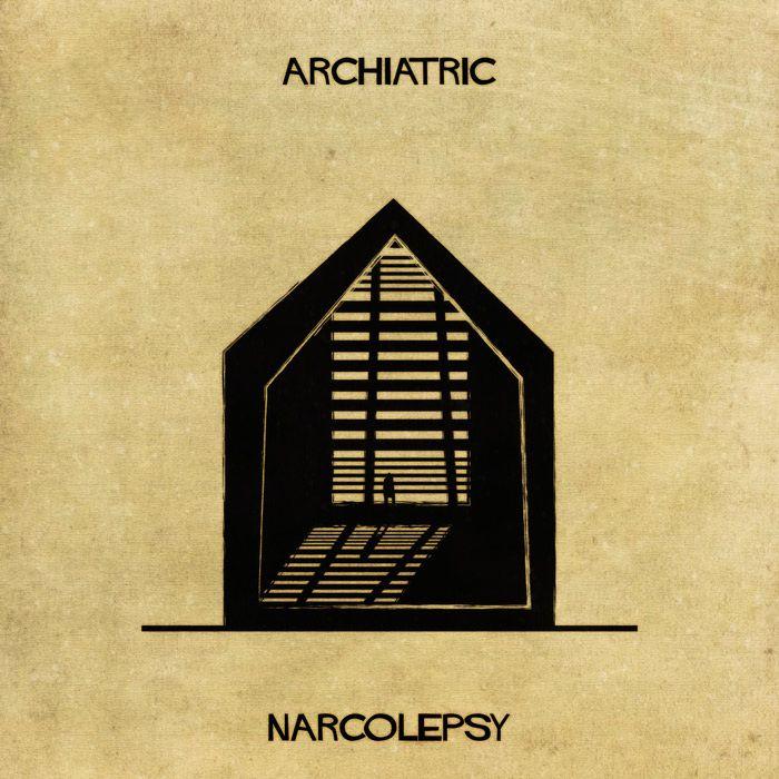 Αρχιτεκτονικές απεικονίσεις ερμηνεύουν τις ψυχικές παθήσεις