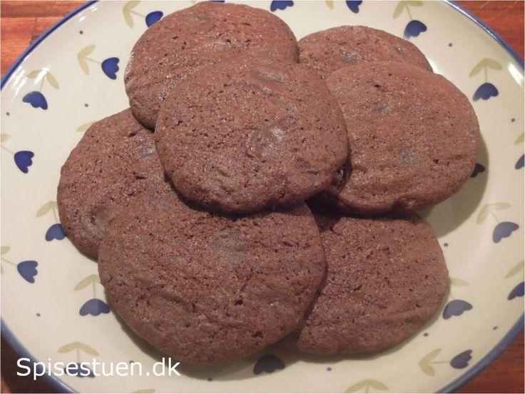 Chokolade cookies.