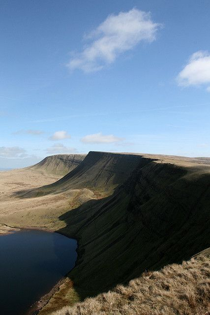 Llyn y Fan Fach and Bannau Sir Gaer (Black Mountain, Brecon Beacons National Park)