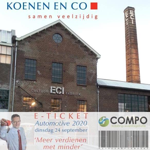 Niet alleen in Rotterdam, maar ook in Roermond waren we afgelopen week van de partij. Koenen en Co zette een super editie neer van 'Automotive 2020, Hoe verdien ik meer met minder?'. Een grote opkomst in een prachtige omgeving! Het was weer TOP!
