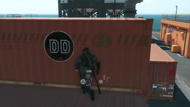 [MGS V TPP] Just another fulton glitch in Mother Base #MetalGearSolid #mgs #MGSV #MetalGear #Konami #cosplay #PS4 #game #MGSVTPP