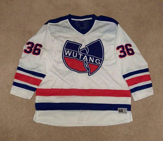 Vintage Wu-Tang Clan Wu Wear New York Rangers Wu York Rangers