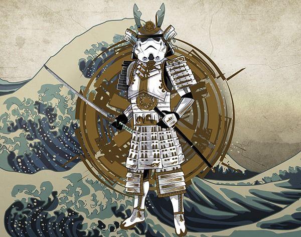 Star Wars: Samurai Trooper by Alessandro Uggeri
