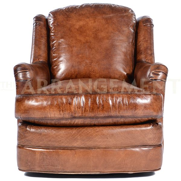 NEW! Artisan Swivel Chair   Rustic furniture in Houston and Dallas. The best furniture store for custom built western furniture.