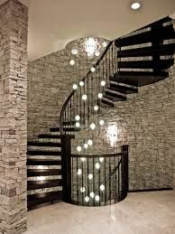 Image result for staircase chandeliers