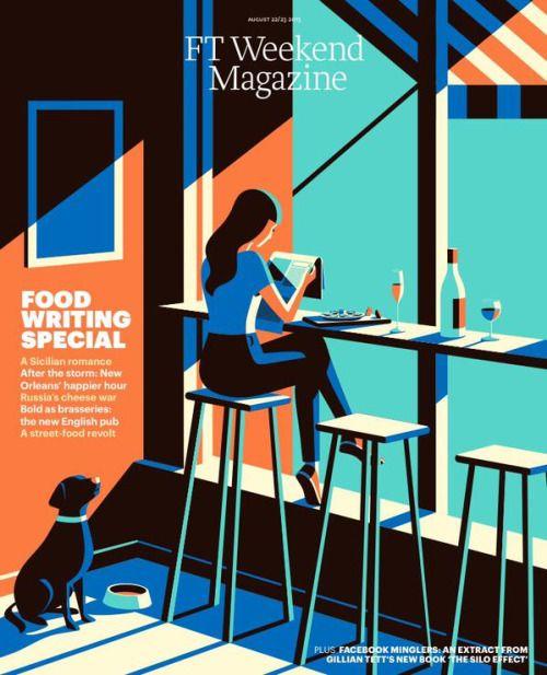 magazinewall:  FT Weekend Magazine (London, UK)