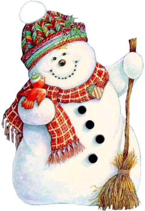 Christmas pipes / snowmen
