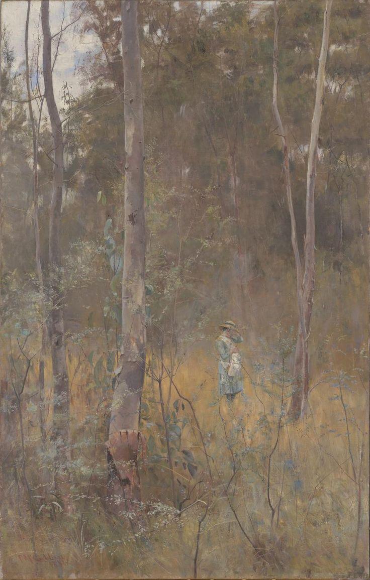 Lost - Frederick McCubbin, National Gallery, Victoria