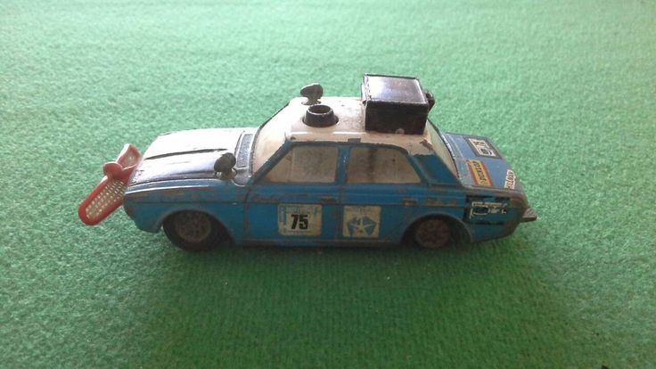 Corgi Diecast Hillman Hunter Rally car Made between 1969-1972  For Refurbishment or a lover of antique patina! by bastarduk on Etsy