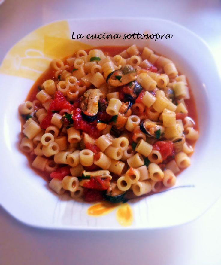 Tubettini+con+le+cozze