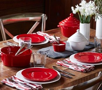 Vietri Lastra Red Tableware \\ New For 2014 \\