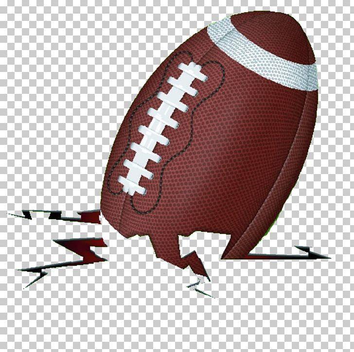 American Football Png Ball Cartoon Cartoon Handpainted Cracks Come Come Down American Football Football Png