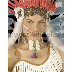 Thema's: Halsband indiaan (kort)