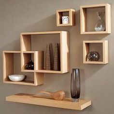 Modern Furniture: New and Modern Ideas for Shelves - Love these floating shelves