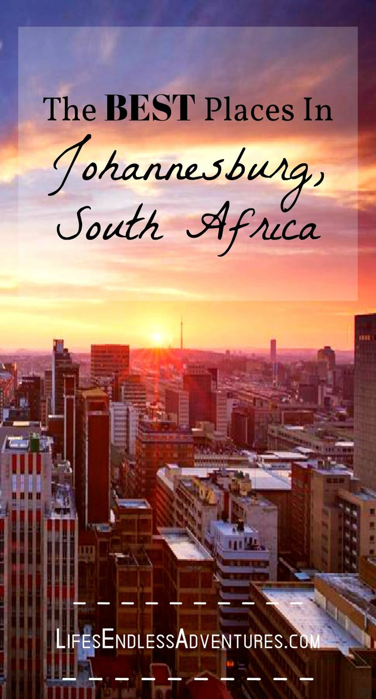 During my trip to South Africa, I stayed a week in Johannesburg, South Africa and I was wondering the same thing. Johannesburg is not so much a touristy destination but usually where people fly in and out of when going to Cape Town or Kruger National Park for a safari.