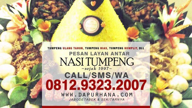 WA 081293232007, Jual Nasi Tumpeng Ulang Tahun - Dapur Hana Catering