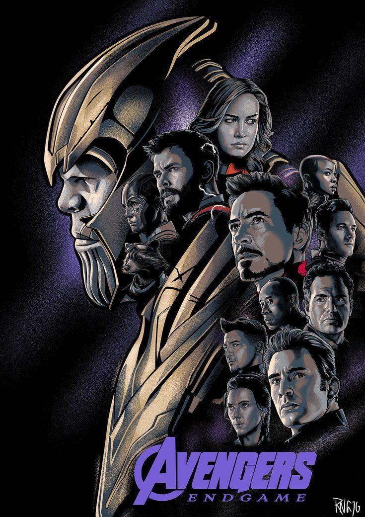 Avengers Endgame Fan Art Colection Avengers Poster Mundo Marvel Marvel Posters