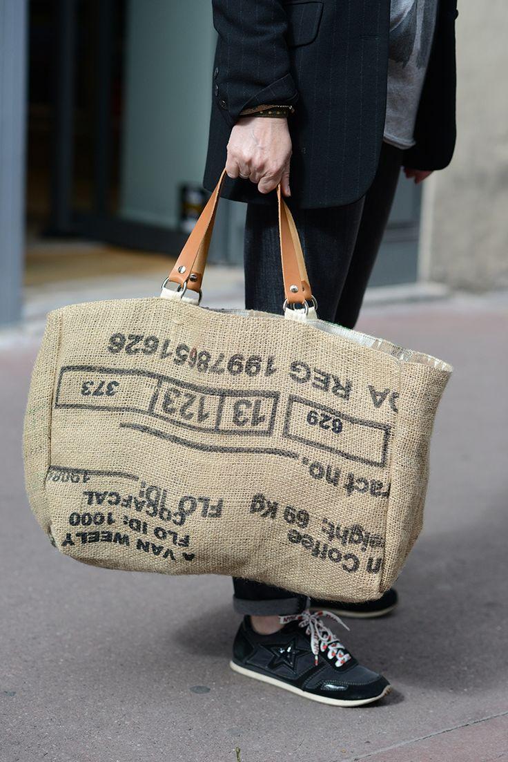 17 meilleures id es propos de sacs de jute sur pinterest meubles en toile de jute sacs de. Black Bedroom Furniture Sets. Home Design Ideas