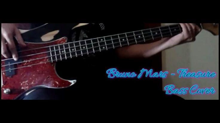 Bruno Mars - Treasure BASS COVER