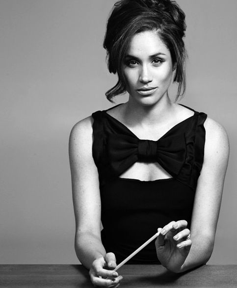 Meghan Markle ladies & gents. My favorite from Suits