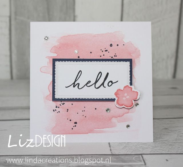 LiZ Design: Hello Again!, Watercolor Wishes Card Ki