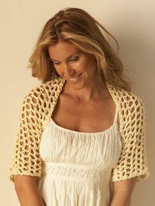 Sun Goddess Shrug Free Crochet Pattern