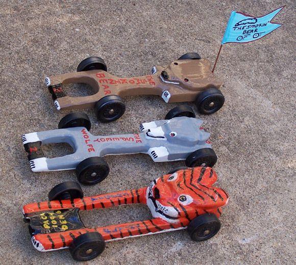 Fastest Pinewood Derby Car Designs | Here Car Showcase Cub Scout Theme Cars  Bill Zachary Williams