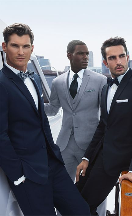 Classic + luxurious. Experience the Joseph Abboud tuxedo at Jos. A. Bank.