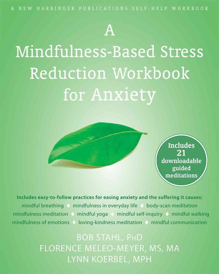 A Mindfulness-Based Stress Reduction Workbook for Anxiety (Paperback) | Overstock.com Shopping - The Best Deals on General Self-Help If you have anxiety or suffer from panic attacks, little things like driving, being at a party where you dont know anyone, or even going to the grocery store can seem overwhelming. But these little th