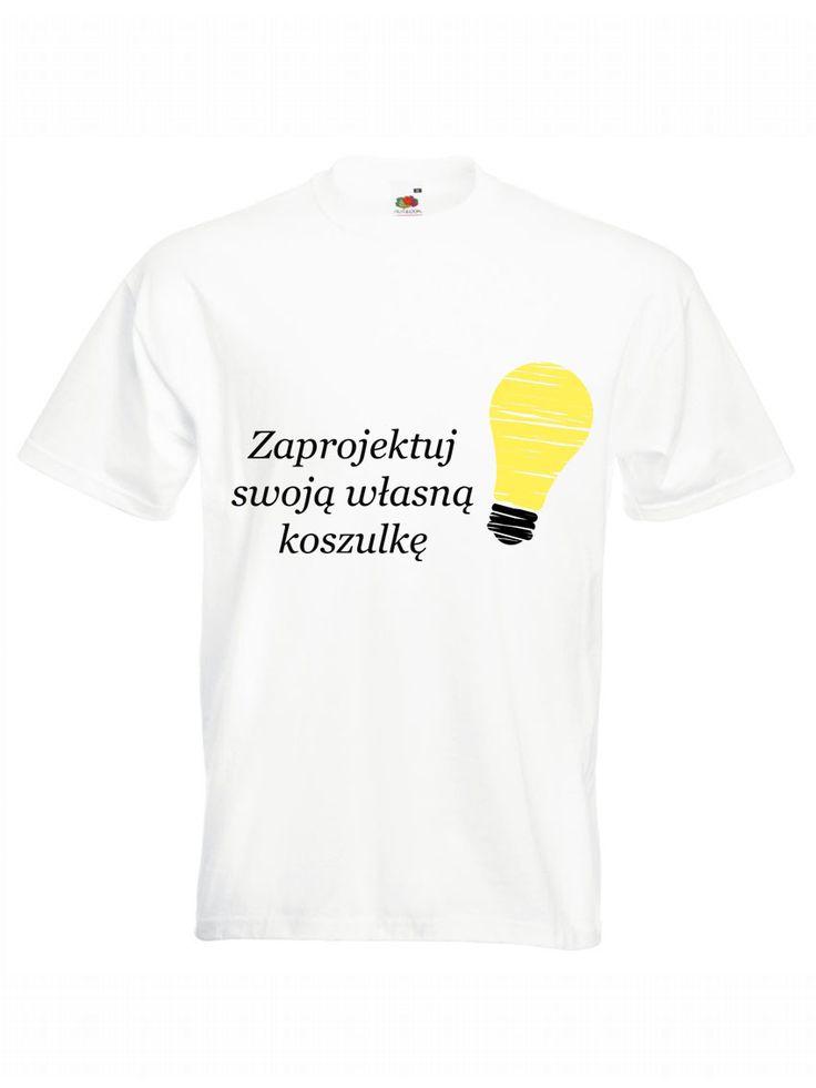 Zaprojektuj swoją koszulkę według własnego pomysłu! Stwórz idealnie pasujący prezent na każdą okazję