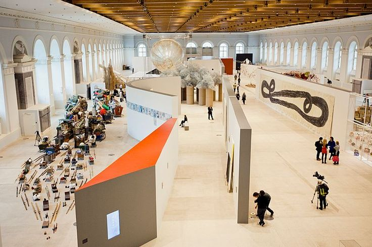 """The opening of """"More Light"""" 5th Moscow Biennal 2013"""