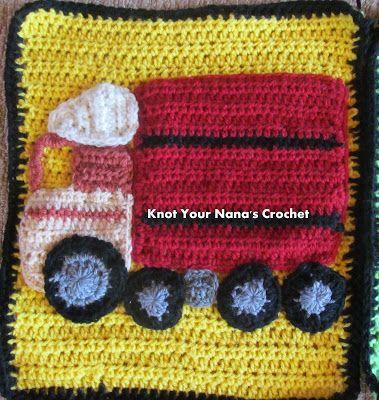 Knot Your Nana's Crochet: Truck