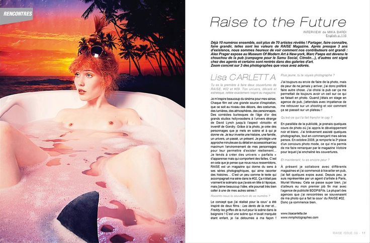 Raise Magazine Issue #9 with Lisa Carletta #LisaCarletta