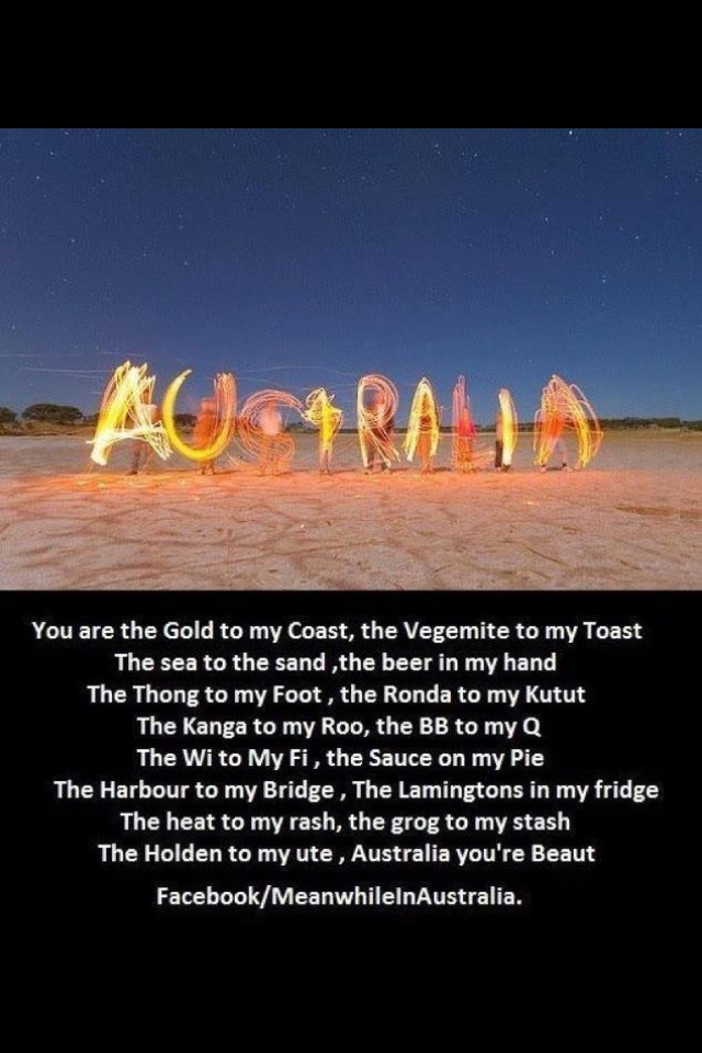 Australia Day- love it!